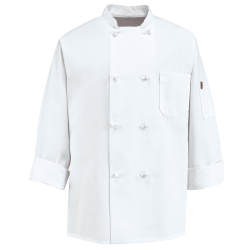 Double Breasted White Chef Coat