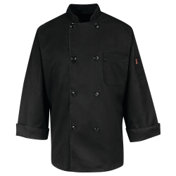 Double Breasted Black Chef Coat