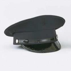 Pershing Dress Hat - Navy, Self Band